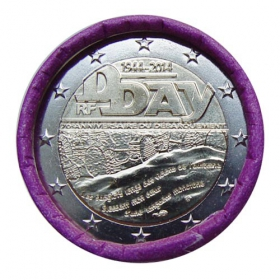 2 Euro / 2014 - France - D-Day