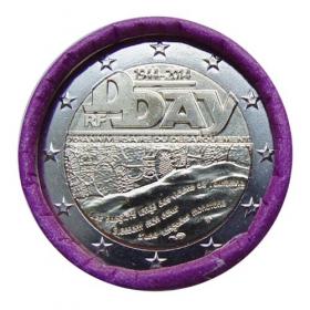 2 Euro Francúzsko 2014 - D-Day (vylodenie v Normandii)