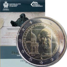 2 Euro San Maríno 2014 - Donato Bramante