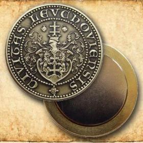 Medaila s magnetom - Mesto Levoča - Patina