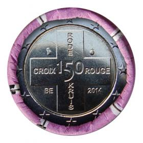 2 Euro Belgicko 2014 - Červený kríž
