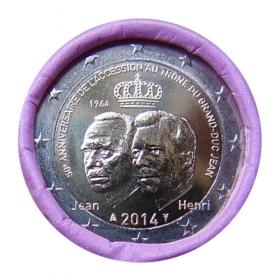 2 Euro Luxembursko 2014 - Veľkovojvoda Jean