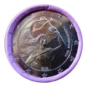 2 Euro / 2014 - Malta - Nezávislosť 1964