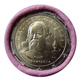 2 Euro Taliansko 2014 - Galileo Galilei