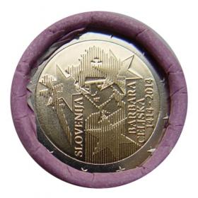 2 Euro Slovisnko 2014 - Korunovácia Barbary Celjskej