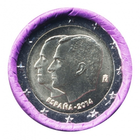 2 Euro / 2014 - Spain - Juan Carlos and Felipe VI.