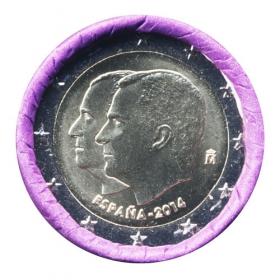 2 Euro Španielsko 2014 - Zmena kráľa Španielska