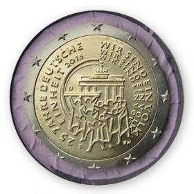 "2 Euro Nemecko ""F"" 2015 - Jednota"