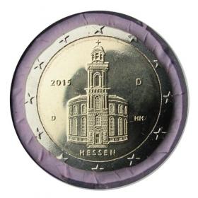 2 Euro / 2015 - Germany - Hessen: St. Paul´s Church 'D'