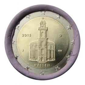"""2 Euro Nemecko """"J"""" 2015 - Hessensko: Kostol sv. Pavla"""