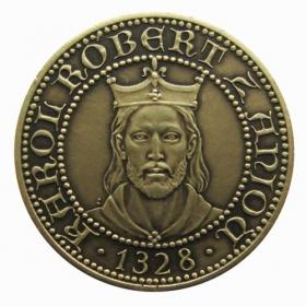 Medaila s kartou Kremnica - Patina