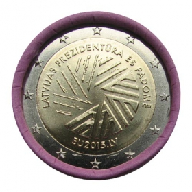 2 Euro / 2015 - Latvia - EU-Presidency