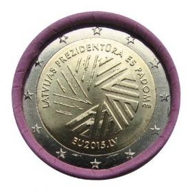 2 Euro Lotyšsko 2015 - Predsedníctvo v Rade EU