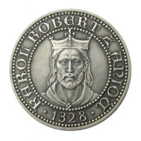 Medaila Karol Róbert z Anjou (Kremnica) - Patina