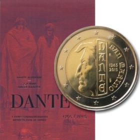 2 Euro / 2015 - San Maríno - Dante Alighieri