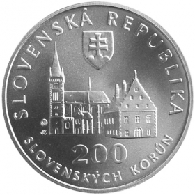 200 Sk / 2004 - UNESCO World Heritage - Bardejov - Town Reserve - BU