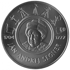 200 Sk / 2004 - 300th anniversary of the birth of Ján Andrej Segner - BU