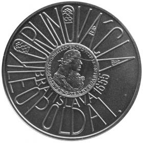 200 Sk 2005 - 350. výročie korunovácie Leopolda I. v Bratislave - Bežná kvalita