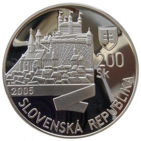 200 Sk / 2005 - Coronation of Leopold I. in Bratislava - Proof