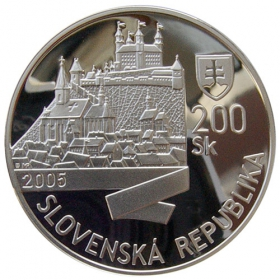 200 Sk / 2005 - Korunovácia Leopolda I. v Bratislave - Proof