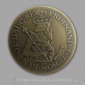 Medaila s magnetom - Ferdinand I. Habsburský (Svätá rímska ríša) - Patina