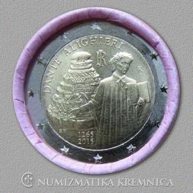 2 Euro Taliansko 2015 - Dante Alighieri