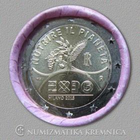 2 Euro Taliansko 2015 - Expo Miláno