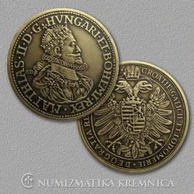 Medailička s kartičkou Matej II. (Habsburgovci) - Patina