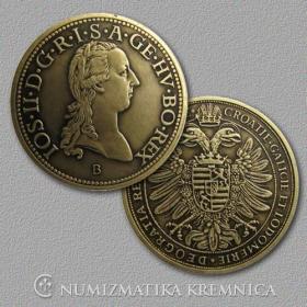 Medailička s kartičkou Jozef II. (Habsburgovci) - Patina