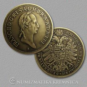 Medaila s kartou - František II. Habsburský (Svätá rímska ríša) - Patina
