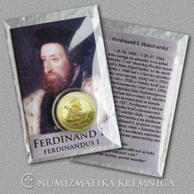 Medaila s kartou Ferdinand I. Habsburský (Svätá rímska ríša) - Lesk