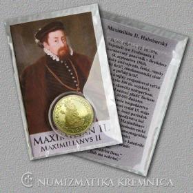 Medaila s kartou Maximilián II. Habsburský (Svätá rímska ríša) - Lesk