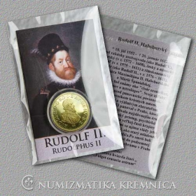 Medal with card - Rudolf II Habsburg, Holy Roman Emperor - Shine