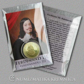 Medaila s kartou - Ferdinand III. Habsburský (Svätá rímska ríša) - Lesk