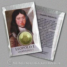Medaila s kartou - Leopold I. Habsburský (Svätá rímska ríša) - Lesk
