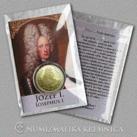 Medaila s kartou - Jozef I. Habsburský (Svätá rímska ríša) - Lesk