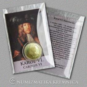 Medaila s kartou - Karol VI. Habsburský (Svätá rímska ríša) - Lesk