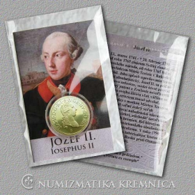 Medal with card - Joseph II Habsburg, Holy Roman Emperor - Shine