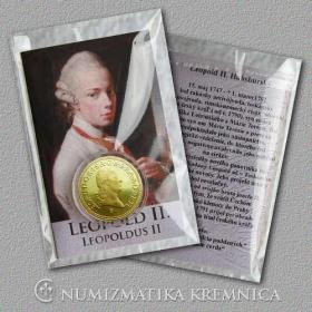 Medaila s kartou - Leopold II. Habsburský (Svätá rímska ríša) - Lesk