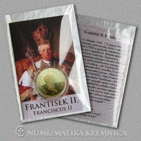 Medaila s kartou František II. Habsburský (Svätá rímska ríša) - Lesk