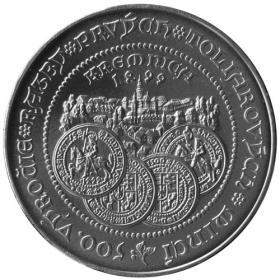500 Sk 1999 - Razba prvých toliarových mincí v Kremnici - Bežná kvalita