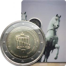 2 Euro / 2015 - San Maríno - Zjednotenie Nemecka
