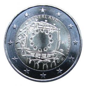 2 Euro Holandsko 2015 - Vlajka Európskej únie