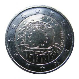 2 Euro Írsko 2015 - Vlajka Európskej únie