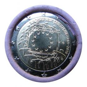 "2 Euro Nemecko ""G"" 2015 - Vlajka EÚ"