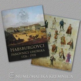 The Habsburgs - Set of coin replicas (brass miniatures of talers) - Gloss