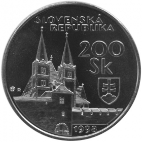 200 Sk / 1998 - UNESCO World Heritage - The Spiš Castle and the cultural monuments in its surroundings - BU