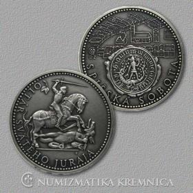 Medal Spisska Sobota - Patinated