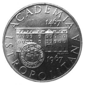 10 Kcs / 1967 - 50th anniversary of the Academia Istropolitana establishment - Standard quality