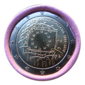 2 Euro / 2015 - Italy - Flag of EU